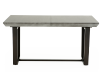 Grey Wood and Metal Table with Central Leaf product photo