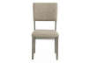 Grey Wood and Upholstered Chair product photo