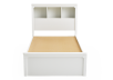 White Twin Kid Storage Bed product photo other06 S