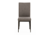 Brown Grey Upholstered Chair product photo