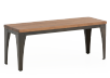 Wood and Metal Bench product photo other01 S