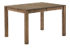 Brown Solid Birch Table with Central Leaf product photo other02 S