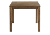 Brown Solid Birch Table with Central Leaf product photo other03 S