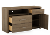 Brown 3-Drawer Dresser product photo other02 S