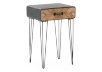 Grey and Brown Wood Accent Table product photo other01 S