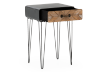 Grey and Brown Wood Accent Table product photo other02 S