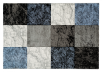 "63x91"" Blue and Grey Rug product photo"