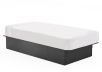 Dark Grey Twin Platform Bed product photo