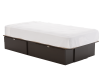Dark Brown Twin Platform Bed product photo