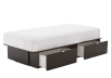 Dark Brown Twin Platform Bed product photo other02 S