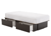 Dark Brown Twin Platform Bed product photo other03 S