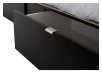 Dark Brown Twin Platform Bed product photo other07 S