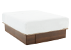 Brown 2-Drawer - Queen Platform Bed product photo