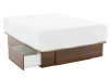 Brown 2-Drawer - Queen Platform Bed product photo other02 S
