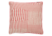 "20x20"" Red and Ivory Decorative Pillow product photo"