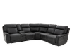 Grey Reclining and Motorized Sectional Sofa product photo other01 S