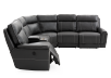 Grey Reclining and Motorized Sectional Sofa product photo other03 S