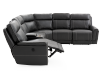 Grey Reclining and Motorized Sectional Sofa product photo other04 S