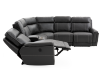 Grey Reclining and Motorized Sectional Sofa product photo other05 S