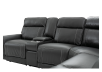 Grey Reclining and Motorized Sectional Sofa product photo other06 S