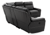 Grey Reclining and Motorized Sectional Sofa product photo other08 S