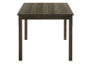 Brown Wood Rectangular Table product photo other02 S