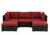 Red and Grey Patio Furniture product photo