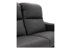 Dark Grey Reclining and Motorized Upholstered Loveseat with Adjustable Headrests - Elran product photo other06 S