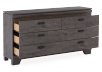 Grey 6-Drawer Dresser product photo other02 S