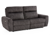 Grey Reclining and Motorized Upholstered Sofa - Elran product photo other01 S