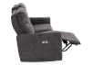 Grey Reclining and Motorized Upholstered Sofa - Elran product photo other04 S