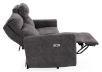Grey Reclining and Motorized Upholstered Sofa - Elran product photo other05 S