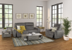 Grey Reclining and Motorized Upholstered Sofa - Elran product photo other10 S