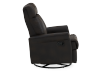 Dark Brown Upholstered Reclining, Rocking and Swinging Armchair product photo other02 S