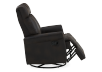 Dark Brown Upholstered Reclining, Rocking and Swinging Armchair product photo other03 S