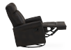 Dark Brown Upholstered Reclining, Rocking and Swinging Armchair product photo other04 S