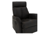 Dark Brown Upholstered Reclining, Rocking and Swinging Armchair product photo other06 S