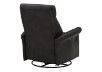 Dark Brown Upholstered Reclining, Rocking and Swinging Armchair product photo other08 S
