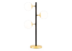 Black and Golden Yellow Metal Table Lamp product photo other01 S