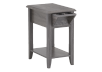Grey Wood End Table product photo other01 S