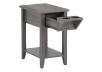Grey Wood End Table product photo other02 S