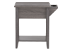 Grey Wood End Table product photo other03 S