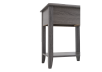 Grey Wood End Table product photo other05 S