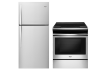 Whirlpool Refrigerator and Range Set - WRT549SZDM YWEE510SOFS product photo