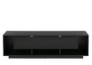 Black 2 Shelves TV Stand product photo