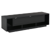 Black 2 Shelves TV Stand product photo other01 S