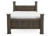 Brown Grey - King Bed product photo