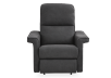 Dark Grey Reclining, Rocking and Battery Motorized Upholstered Armchair - ELRAN product photo