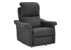 Dark Grey Reclining, Rocking and Battery Motorized Upholstered Armchair - ELRAN product photo other01 S