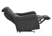Dark Grey Reclining, Rocking and Battery Motorized Upholstered Armchair - ELRAN product photo other05 S